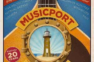 Musicport will run at Whitby Pavilion from October 18 to 20