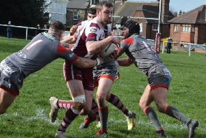 Jake Wilson produced a man-of-the-match performance but couldn't prevent Thornhill slipping to a 20-18 defeat at Underbank Rangers last week and he will miss the Trojans next two matches, starting with this week's trip to Wath Brow Hornets.