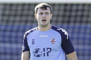 Last season's captain Tom Jackson is among the eight players Liversedge have retained for the upcoming NCE LEague Premier Division campaign, which begins with a trip to Maltby Main on Saturday. Picture: Allan McKenzie