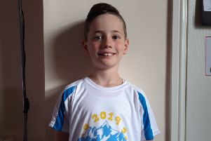 Nine-year-old Jack scales the heights for charity