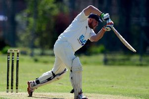 Eric Austin top scored with 45 in Birstall's Jack Hampshire Cup final defeat to Yeadon.