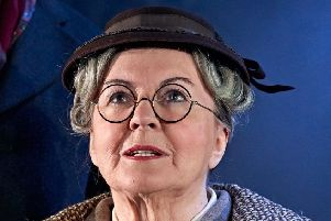 Last chance to see Gwen Taylor in The Lady Vanishes at Derby Theatre