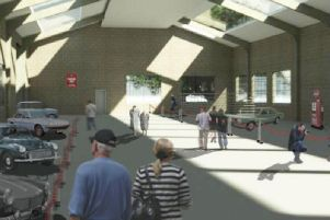 An artist's impression of the museum.