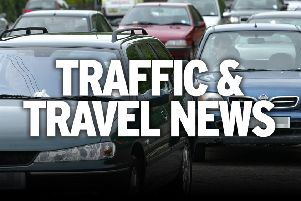 Motorists may face delays after a suspected road traffic collision in Chesterfield.
