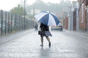 Met Office warning as heavy rain set to batter Derbyshire