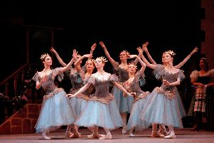 The Royal Ballet's production of Coppelia.