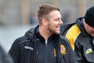 Belper boss Grant Black, who says his team are ahead of schedule in their push for promotion.