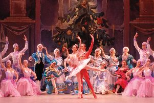 The Russian State Ballet of Siberia present The Nutcracker.