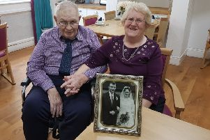 Chris and Ethel Hayward of Belper celebrate their 60th wedding anniversary.