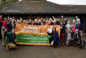 Launch of Autumn Footprints 2018 walking festival at Shipley Country Park