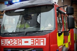 Fire crews called to put out blaze at former Ambergate lime kiln