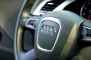 A car-key burglar tried to steal an Audi SQ5 from outside the victim's Chesterfield home.