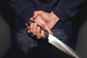 Knife crime is on the rise in Derbyshire.