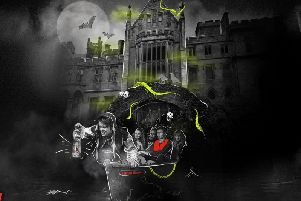Scream with fear and laughter in the new Alton Towers Dungeon.