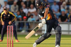 Wayne Madsen was in fine form for Derbyshire.