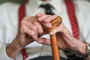 The pensioner population is set to rise in Derbyshire over the coming years.