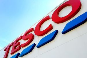 A shoplifter was caught trying to steal a trolley full of nearly �500 of goods.