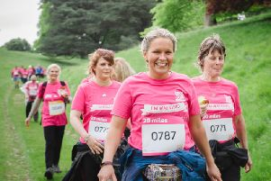 Hundreds of people will take part in Breast Cancer Cares Chatsworth Pink Ribbon Walk on Saturday.
