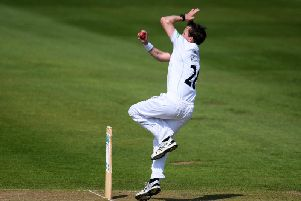 Tony Palladino struck early as Derbyshire controlled the field on the opening day against Glamorgan