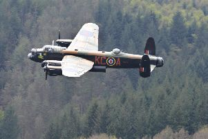 There are now only two airworthy Lancaster bombers in the world.