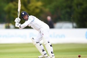 Billy Godleman shone on a great opening day for Derbyshire.