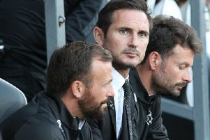 Frank Lampard (centre) looks set to move to Chelsea, with Jody Morris (left) and Chris Jones (right) tipped to join him.