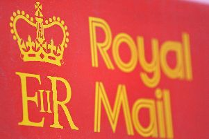 Notice has been served on Royal Mail