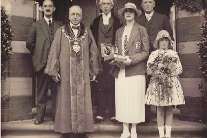 A civic reception was held for Blackpool swimmer Lucy Morton who won a  gold medal in the 200 metres breaststroke in the 1924 Olympic Games.