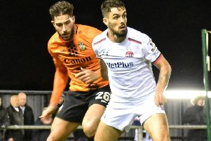 AFC Fylde suffered a heavy home defeat on Tuesday