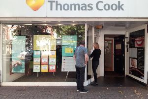 Thomas Cook shops look set to reopen after Hay's Travel stepped in to buy up the premises