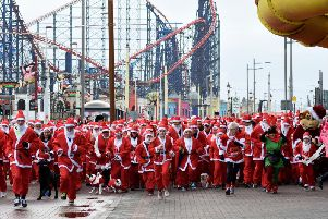 It will be the tenth year for the Santa Dash