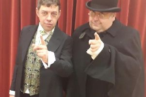 Lancastrian Players are performing Sherlock Holmes and the Case of the Jersey Lily