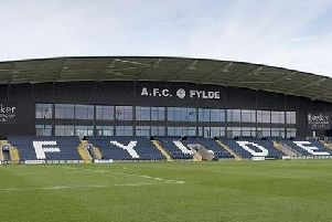 Mill Farm where AFC Fylde's game with Sutton United has been postponed.