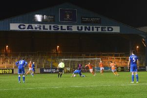 Blackpool's midweek EFL Trophy tie at Carlisle United attracted another three-figure attendance for the revamped competition