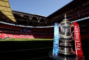 The draw for the first round of the FA Cup takes place on Monday night