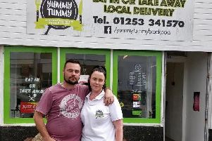Bjorn Beyl and Leoni Wilson, co-owners of Yummy Tummy in St Annes Road, South Shore