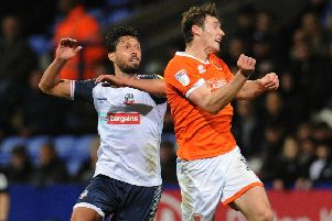 Bolton Wanderers have already taken a point off Blackpool this season