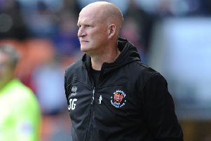 Blackpool manager Simon Grayson wants his players to be braver in possession