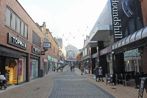 The Houndshill shopping centre