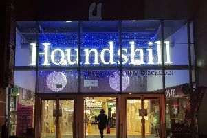 Houndshill Shopping Centre in Blackpool