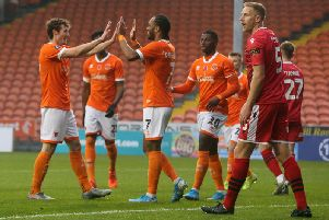 The Seasiders eased into the second round of the FA Cup with a professional display against Morecambe