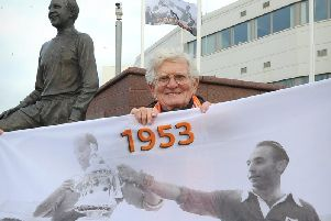 Cyril Robinson pictured in 2013