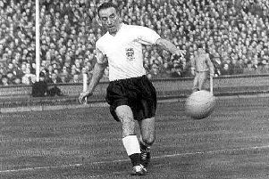 Sir Stanley Matthews was one of 13 Blackpool players to represent their national side