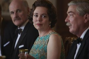 Olivia Colman plays the Queen in Netflixs The Crown. Picture courtesy Des Willie/Netflix