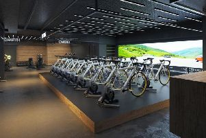 How the Cybele Velo fitness centre will look in Brussels