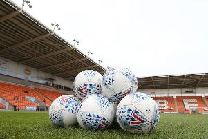 Fylde coast neighbours Fleetwood Town make the short journey to Bloomfield Road today