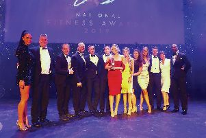 The National Fitness Awards saw the Health Club at Ribby Hall win the top award