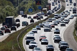 December 23 will be the third busiest festive day on the roads