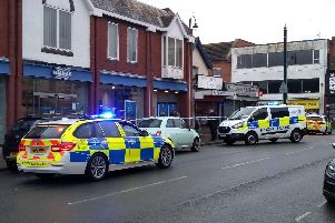 Police said the bank was targeted by an armed robber demanding cash from staff at around 9.18am (December 12)