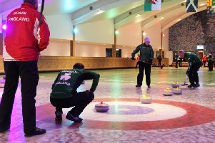 Four Nations Curling Competition at The Flower Bowl (Photo: Barton Grange GC)
